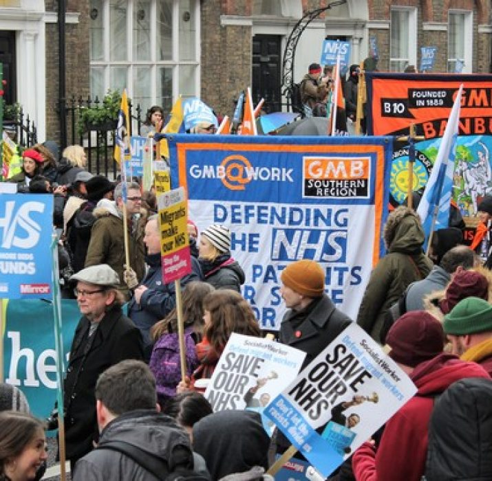 NHS protestolarına Day-Mer'den destek