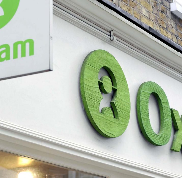 Oxfam in crisis talks over sex scandal