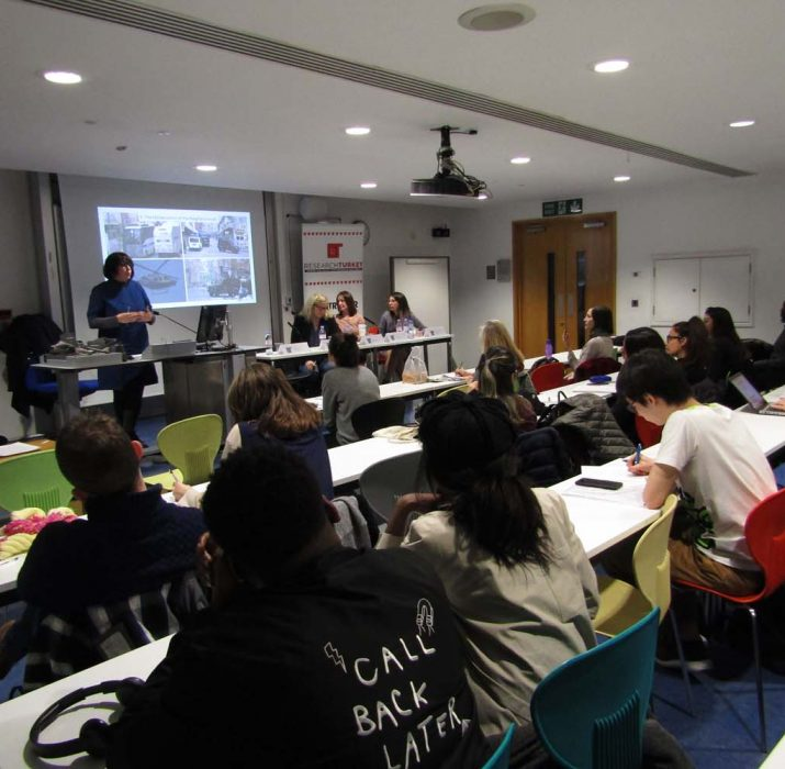 Panel organised on Gentrification and Urban Contestation in Istanbul and London