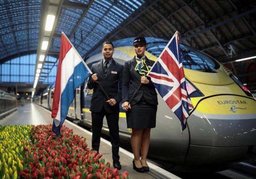 Londra ve Amsterdam arasında hızlı tren seferleri başlıyor