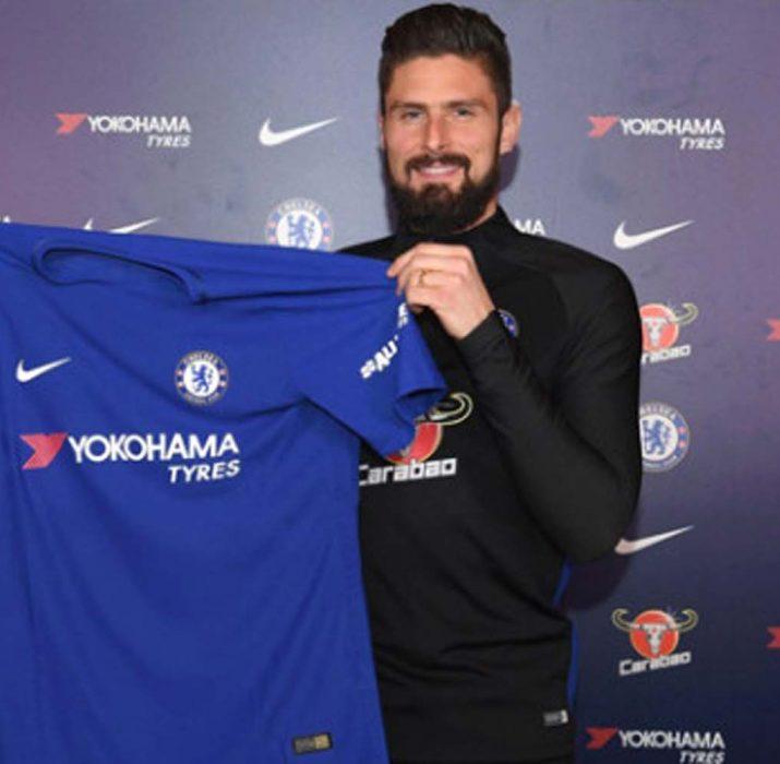 Oliver Giroud, Chelsea'lı