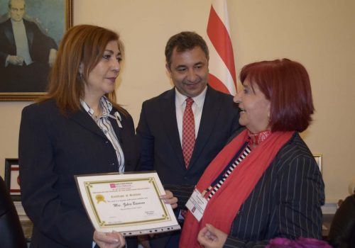 Compliments to the TRNC representative