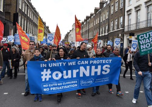 Standing against the attacks on the Health Service