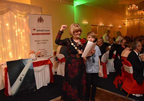 Enfield Mayor gave a farewell dinner
