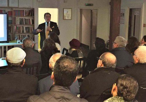 Health Seminar held at Enfield Cemevi