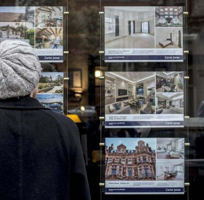 UK house prices fall for the first time in six years