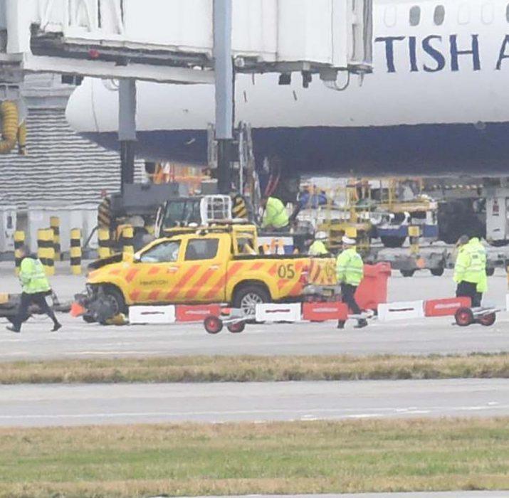 BA engineer dies in Heathrow Airport