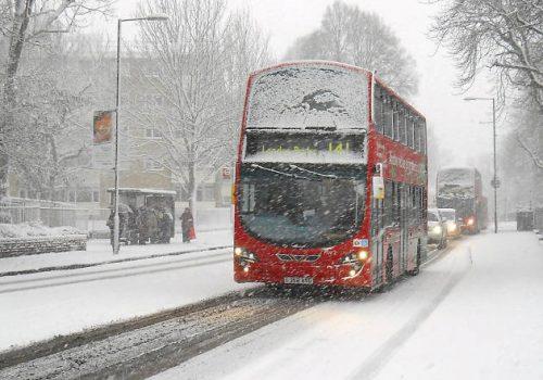 Dikkat: Londralılara kar uyarısı