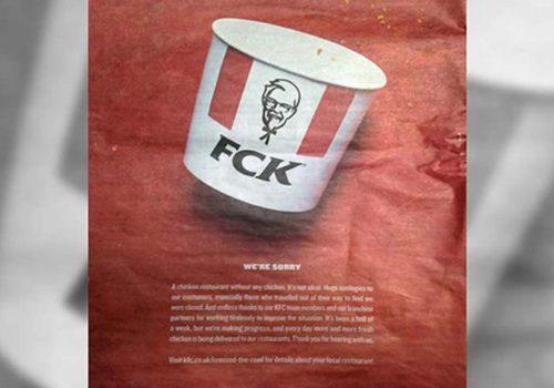 Tavukları biten KFC özür diledi