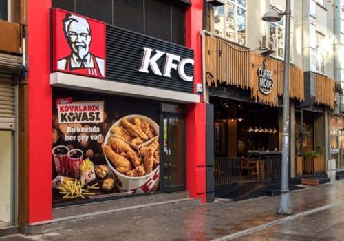 Tavuklar bitti, KFC restoranları kapattı