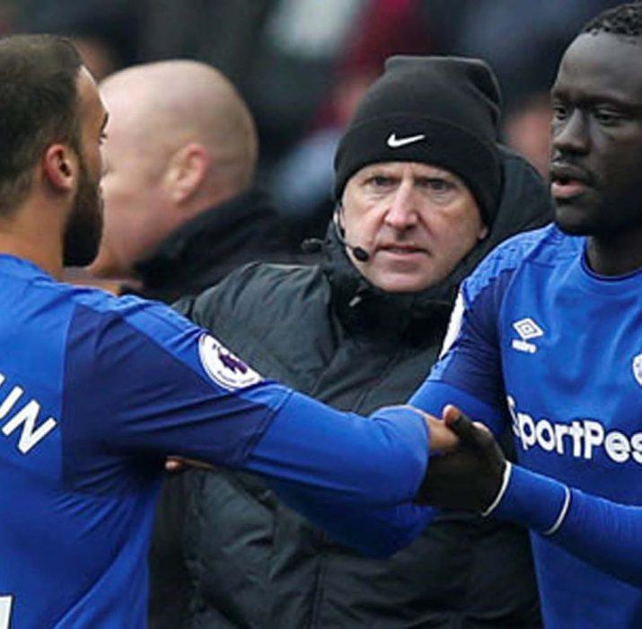 Everton taraftarından Allardyce'a Cenk Tosun tepkisi!
