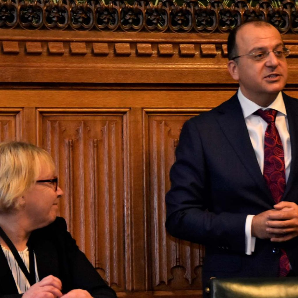 İTSEB Tıp Bayramını İngiliz Parlamentosu'nda kutladı