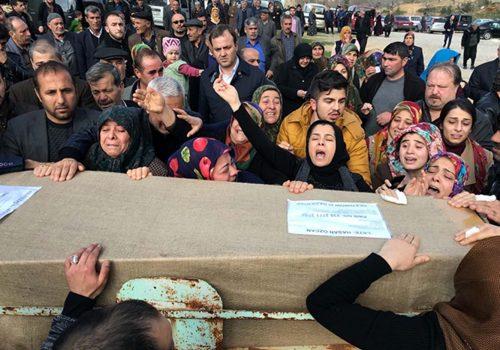 Cinayet kurbanı Hasan Özcan memleketinde toprağa verildi