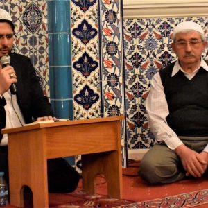Regaip Kandil held at the Diyanet Vakfi mosque