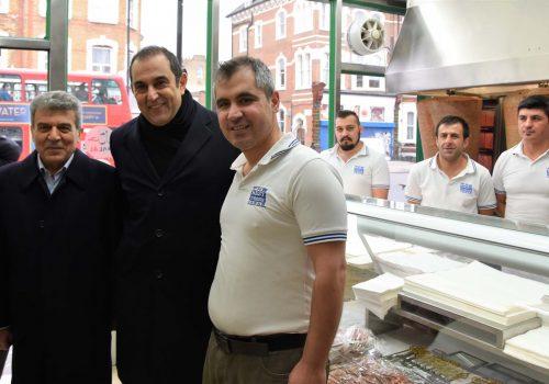 General Consul Ergin visits Stoke Newington