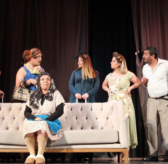 The 'Parcel Parcel' theatre show amused the audiences of London