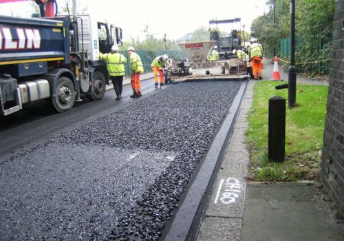 Enfield is resurfacing with waste