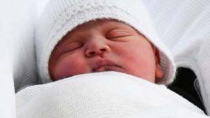 Kraliyet ailesine yeni prensi Louis Arthur Charles