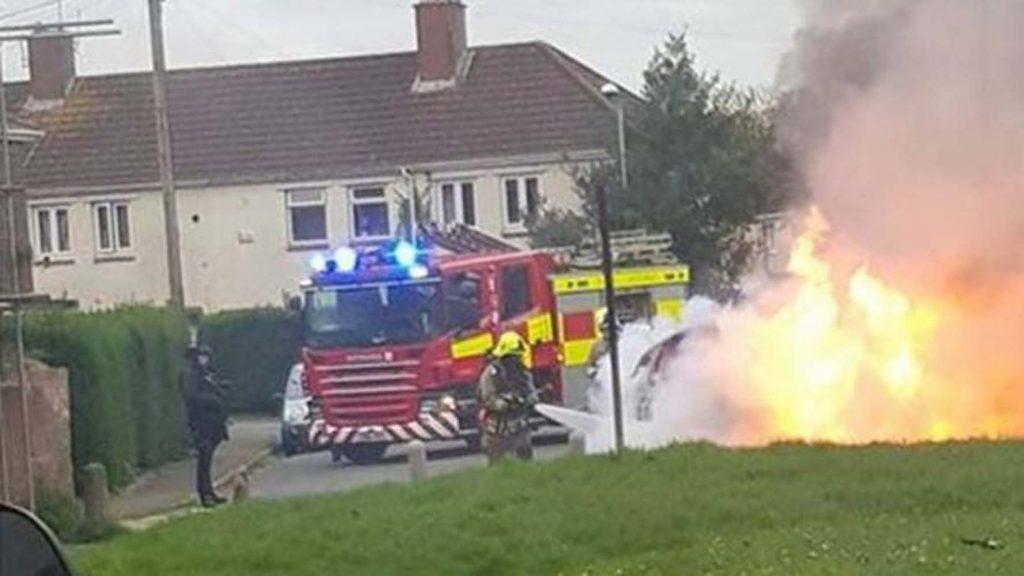 Arrest after car hits people outside Newport clubbing spot
