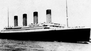 100 bin sterlinlik Titanic mönüsü
