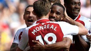 Arsenal son dakikalarda farka koştu