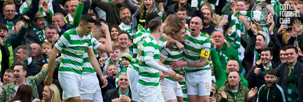 Celtic hem derbiyi hem de şampiyonluğu kazandı