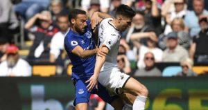 Cenk Tosun'lu Everton, bir puanla döndü