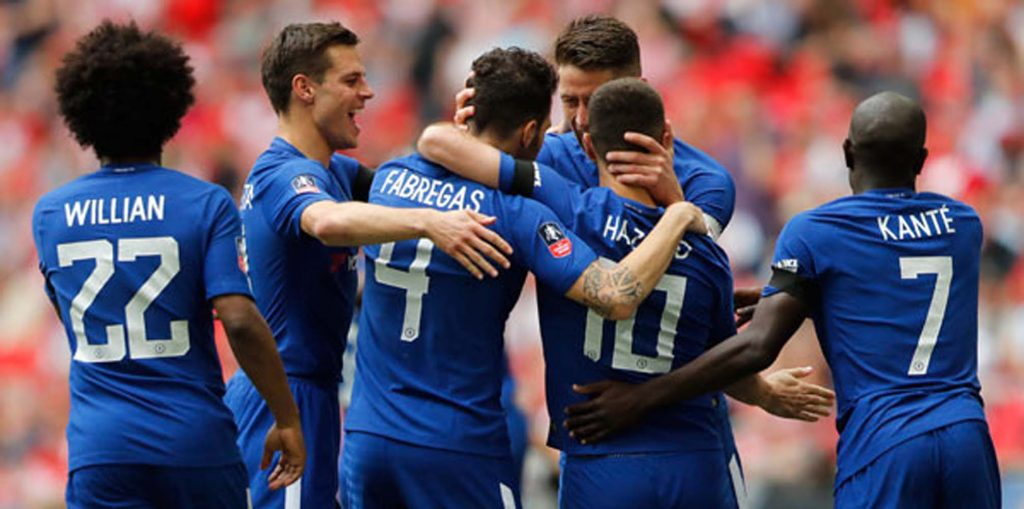 FA Cup'ta Chelsea finalde
