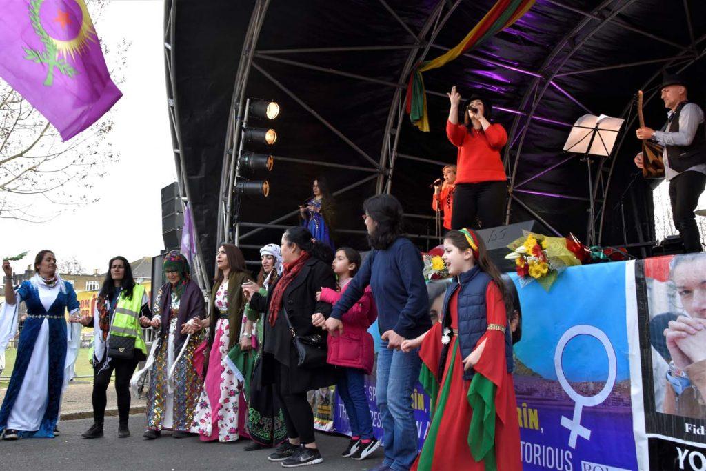 Kurdish society celebrated Newroz