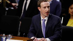 Zuckerberg grilled by US senators over Facebook's data scandal