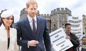 Anti-monarchy group asked to protest royal wedding