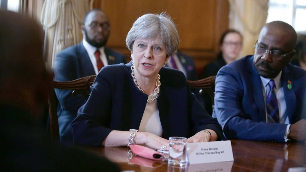 Theresa May apologised to the Windrush generation
