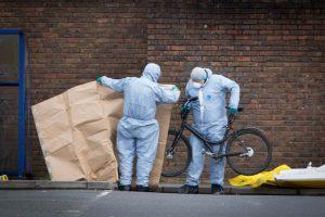 İngiliz Polisinde gaz zehirlenmesi