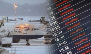 London's airport system update to cause delays