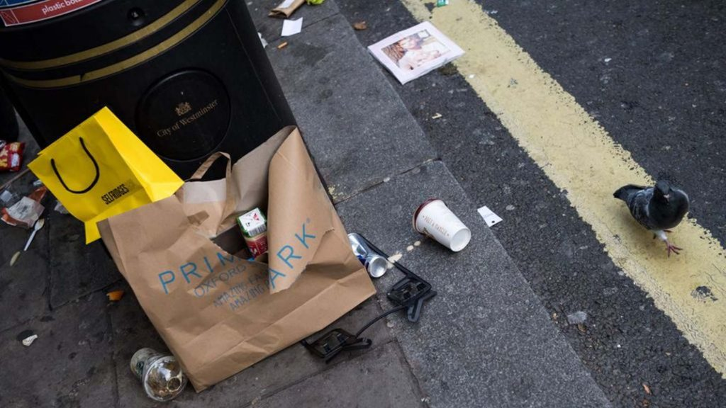 Increased fines for dropping litter come into effect