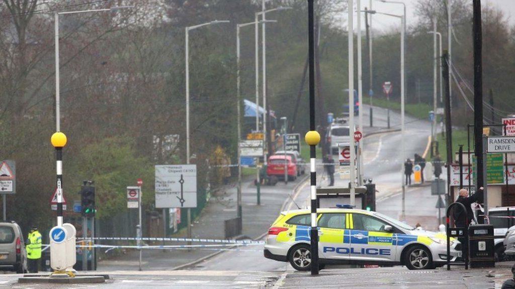 Romford police shooting: Man shot dead