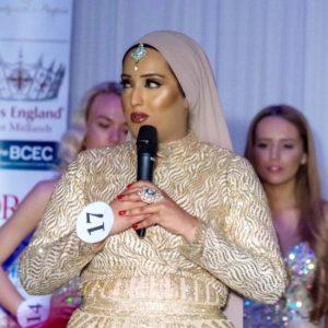 Başörtülü Maria, İngiltere'nin Güzellik Kraliçesi olmak istiyor