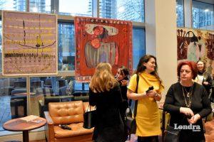 Sanatseverler Kübra Müjde'nin sergisini beğendi