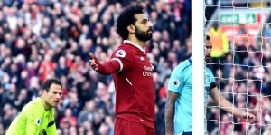 Liverpool kazandı, Salah rekor kırdı