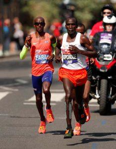 Kenyalı Kipchoge, Londra Maratonu'nu kazandı