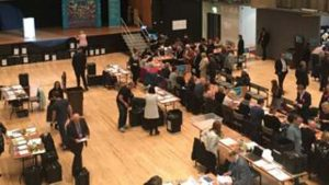 Yerel seçimde oy verme işlemi sona erdi