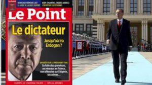 Le Point dergisinin 'Diktatör' kapağı