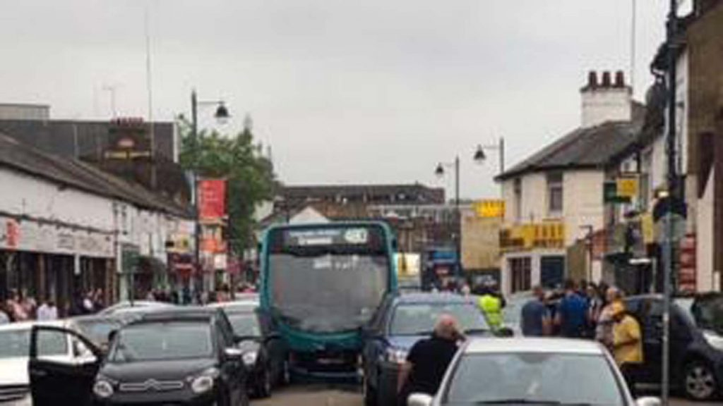 Seventeen hurt as Dartford Arriva bus ploughs into cars