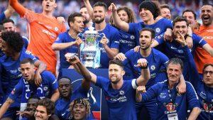 İngiltere Federasyon Kupası Chelsea'nin
