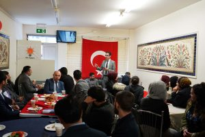 AK Partili gençler seçim öncesi buluştu