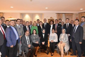 Consul General welcomed Muslims for an iftar meal