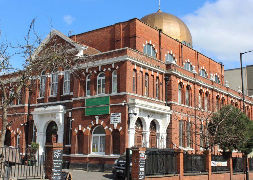 Ramazan'da huzurun adresi Shacklewell Lane Cami