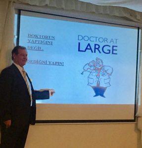 Dr. Teoman Sırrı'dan 'Obezite ve Kanser' paneli
