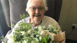 Royal wedding flowers thrilled patients in Hackney
