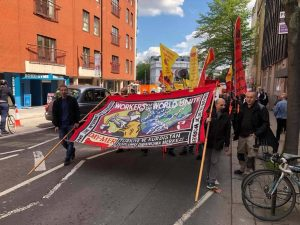 May Day celebrations in London